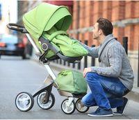 Wholesale 2014 Fasion Stokke Xplory Stroller Baby Stroller Toddlers Prams Red Beige Purple Green Blue Pink Navy Brown z TT36752301125