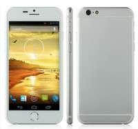 Wholesale I6 Inch Cell Phone Quad core MTK6582 Show Ram GB Rom GB Real RAM MB ROM GB GHz GPS G WCDMA MP Single Micro Sim