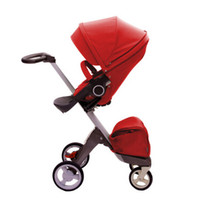 Wholesale 2014 Fasion Stokke Xplory Stroller Baby Stroller Toddlers Prams Red Beige Purple Green Blue Pink Navy Red z TT36752301125