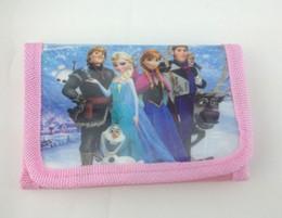 Wholesale Frozen Snow Queen Kid Accessories Purses Hot Children Birthday Gift Kids Bags Child Purse Child Princess Elsa Anna Olaf Wallet J1465