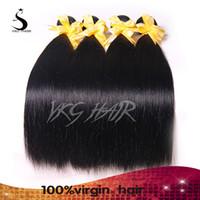 Wholesale 7A Virgin Peruvian Hairs Straight Hair Weave Peruvian Straight Hair Extensions Remy Human Hair Weaves Inch DHL FedEx UPS