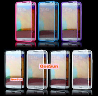Cheap For Apple iPhone touch case Best TPU+PC  view case