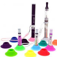 Electronic Cigarette stand - DHL Tight Abosorb Silicone Suckers Ego Sucker Ego Base Ego Suction Cup Ego Holder Ego Display Stands Portable E cigarette Rubber Caps Pen