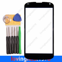 For LG Touch Screen LG 1 pcs free HK Post shipping front Outer glass Lens replacememt with tools For LG Google 4 Nexus 4 E960 touch screen digitizer without flex