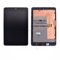 asus tablet - LCD Display Touch Screen Digitizer Replacement with frame For ASUS Google Nexus Tablet black