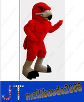 Mascot Costumes animal hawk - Mascot red hawk mascot costume custom fancy costume anime mascote theme fancy dress carnival costume HSA0737