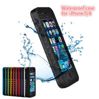 Wholesale Waterproof Case Red pepper Water Proof Case Cover Shockproof for iPhone s s Cases From the Grant