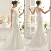 2015 Perfect Design Mermaid Lace Wedding Dress Bridal Gown I...