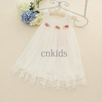TuTu Spring / Autumn A-Line Latest Design Kids Dress Embroidery Bows Korean Style Girls Dresses For Christmas Infant Clothing GD40829-8