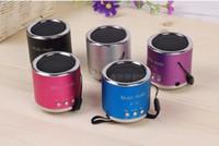 2 arrival surroundings - 2016 New Arrival Wireless Portable Mini Speaker Computer Amplifier FM Radio USB Micro SD TF Card MP3 Player Colors