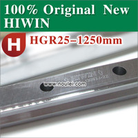 Wholesale 1PCS HGR25R1250H HIWIN HGR25 linear guide rail HGR L mm H Accuracy class