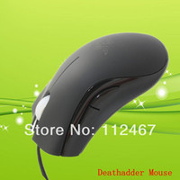 1000 Wired Finger Wholesale-Discount Boxed!!! OEM for razer Deathadder Gaming Mouse 3500dpi Infrared Competitive games must Best Selling!NO driver software