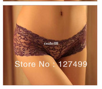 Wholesale gift women modal lace many color size sexy underwear ladies panties lingerie bikini underwear pants thong g string