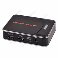 Cheap HD Game Capture HD video capture 1080P HDMI YPbPr Recorder Xbox 360&One black free shipping