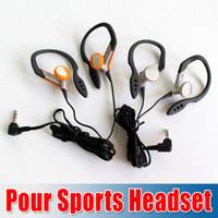 Wholesale New Arrival RP HS33E EARCLIP Clip Pour Sports Earphones Headphones For smart phone mp3 mp4 mp5 tablet pc Colors churchill