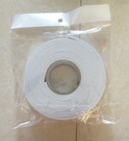 Wholesale mm m Double faced adhesive white sponge rubber double glue adhesive