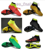 Wholesale Cheapest Soccer Shoes Magista Obra FG Football Boots Outdoors Ball Sports Boots Man Soccer Cleats Footwear Training Cleats Athletics Boots