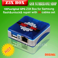 Wholesale 100 original gpg new z3x box SET for Samsung Pre Activated Edition package with cables