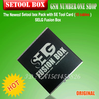 Wholesale 100 original Newest Setool box Pack with SE Tool Card cables SELG Fusion Box