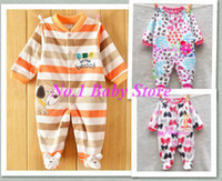 baby clothing fabric - Good quality polar fleece fabric baby rompers good quality newborn clothes baby clothes