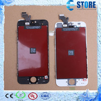 Cheap For iPhone 5 Display New Replacement LCD & Touch Screen Digitizer With Frame Assembly For iphone 5 Screen,Free via DHL,wu