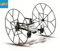 Wholesale LEFLY F1 Climbing Wall UFO Channel Axis Gyro Mini RC Quadcopter RTF GHz No registered no tracking Number