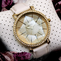 Wholesale Authentic D Star Diamond Face table Julius Ladies Watches Women s Wrist Quartz Round Stainless Steel Top Quality Original brand