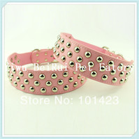 berry products - Berry inch Width Genuine Leather Studed Dog Collars Big Dogs Pet Products