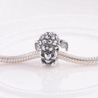 Cheap Wholesale 925 Sterling Silver Charms 1:1 Original Vintage FJ297 Curly Baby Beads Compatible With European Pandora Bracelets