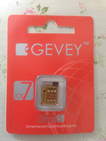 Wholesale NEWEST AUTO ios7 gevey IOS unlock all GSM iphone4s woldwide no jialbreak