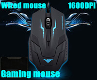 Cheap Wholesale-New Big sales ! best 4D Buttons1600 dpi super laser gaming mouse USB wired Professional game mice For PC Computer Desktop Gamer