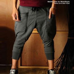 Wholesale summer fashionable casual pants men s harem pants trousers male p25