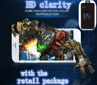 Wholesale 2014 New Tempered Glass For iPhone Screen Protector H D Explosion Proof Screen Film Guard For iPhone inch