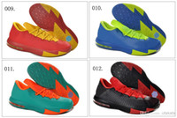 Cheap 31 Different Colors New Model KD 6 VI Men's Basketball Sport Footwear Sneakers Trainers Shoes ( 1 - 20 Colours)