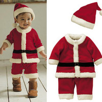 Wholesale 2015 New Iron Table Rattan Chair Used Bar Tables And Chairs Boys Christmas Romper Infant Male Baby Siamese Classic Style Hat Suits Hy086