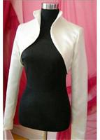 Wholesale Pretty Satin Women s Jackets bridal wraps accessories bridal neccessity the shrug and bolero
