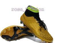 Wholesale Discount Soccer Shoes Magista Obra FG Cheap Football Boots Men Soccer Cleats TPU Football Boots Outdoor Ball Sports Shoes Hi Cut Athletics