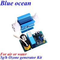 Wholesale BO QNAO AC220V AC110V DC12V DC24V g ozonizer ozonator Car deodorant beauty disinfection
