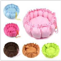 Wholesale New High Quality Soft Comfortable Cotton Solid Color Pet Bed Dog Cat Puppy Favourate Warm Houses Sleeping Bag