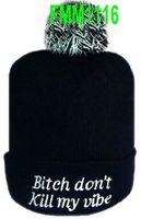 golf wang hat - Beanie hats Winter Skullies knitted BOY beanie GOLF WANG Pink Dolphin Beanie
