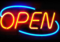 neon open sign - New OPEN Glass Neon Sign Glass Neon Sign Light