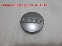 hub caps - 4 hot selling High Quality gray black mm Wheel Hub Caps Cap Car Wheel Badge Emblem