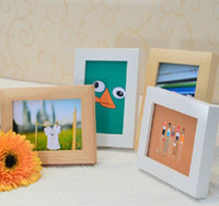 Wholesale New Wooden Photo Frame Many Size Picture Frames For Home Table Decor Wall Hanging Art Supplies