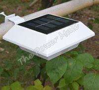 Cheap Outdoor 4 LED Solar Light Solar-Powered Pathway Lamp Solar Power Panel Garden Light #3 SV006440