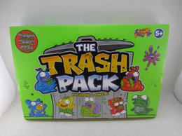 Wholesale A box of bag mail cartoon TRASH PACK garbage monster trash littering the baby doll accommodates mixed styles of random