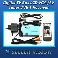 Cheap Digital TV Box LCD VGA AV Tuner DVB-T View Receiver
