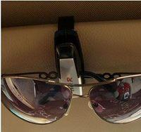 Wholesale Model with glasses clip auto paper folder folder car glasses A0017
