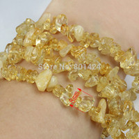 Cheap 74-909 Natural loose Citrine chip beads Rock Size:5~8MM 32 Inch for DIY Semi preicous stone jewelry