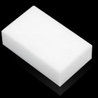 Wholesale 50pcs White Magic Melamine Cleaner Eraser Sponge Size x6x2cm Kitchen Desk Table Car Helper