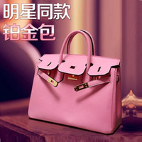 Wholesale New fall platinum first layer of leather handbags hand bag embossed leather handbags brand bags manufacturers accusing